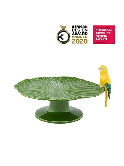 Picture of Amazōnia - Cake Stand with Macaw